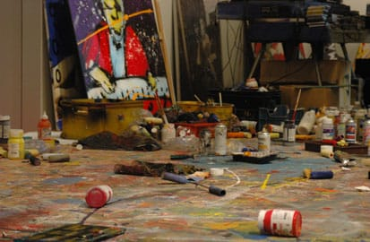 Herman Brood, Het atelier van Herman Brood