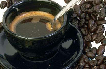Koffie zonder bon