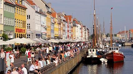 Zeemeermin Kopenhagen, Kopenhagen