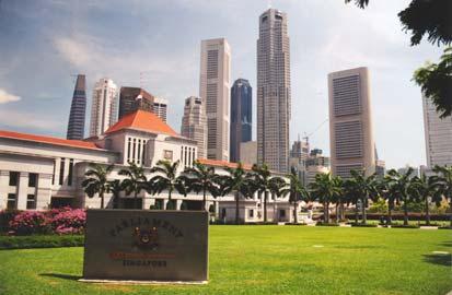Singapore wordt een onafhankelijk land, Singapore