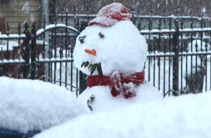 Wereldrecord sneeuwpoppen bouwen, Sneeuwpop