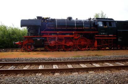 De eerste trein tussen Amsterdam en Utrecht, Stoomtrein in Friesland