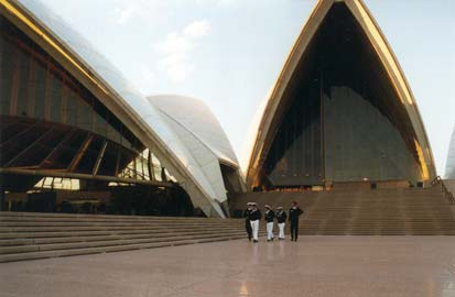 The Opera House in Sydney