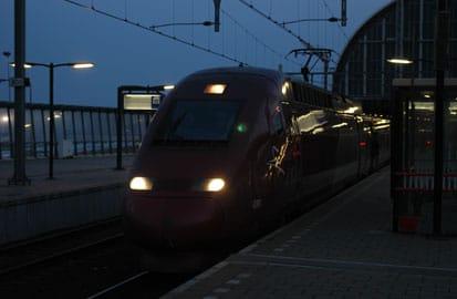 Shinkansen, Een hogesnelheidstrein in Amsterdam