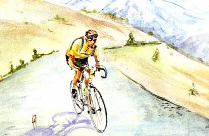 Zeven keer winnen, De Tour de France