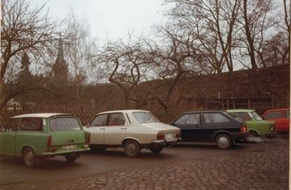 De Trabant - de communistische Kever, Oude Trabantjes in Oost Berlijn
