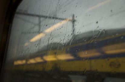 De  treinkaping bij De Punt,
