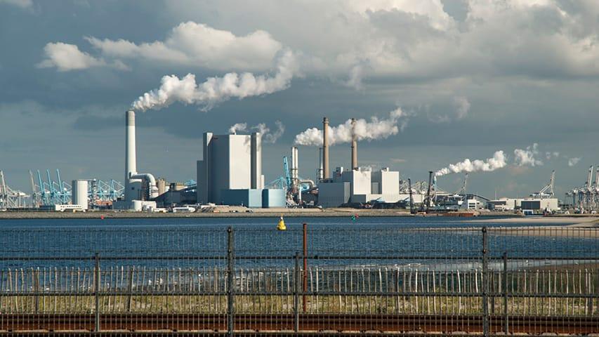 De Tweede Maasvlakte bij Rotterdam