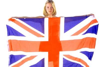 De vlag van Groot Brittanië