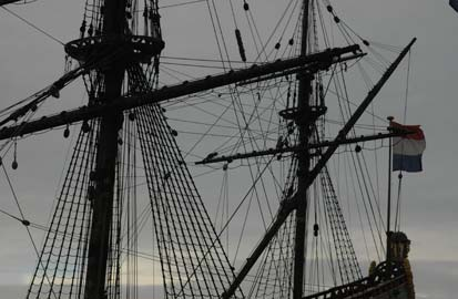 De Vereenigde Oostindische Compagnie, VOC Schip