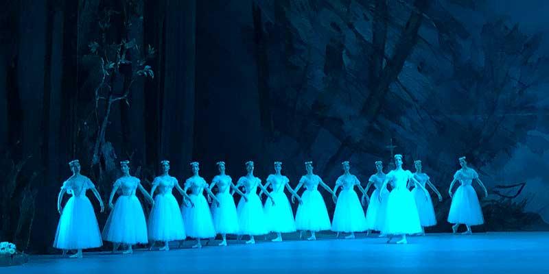 Een voorstelling in een van de vele theaters in Moskou