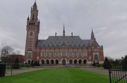 Internationaal Gerechtshof, Het Vredespaleis in Den Haag