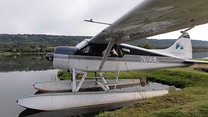Het eerste watervliegtuig, Watervliegtuig in Alaska