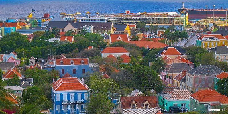 Willemstad, de hoofdstad van Curaçao