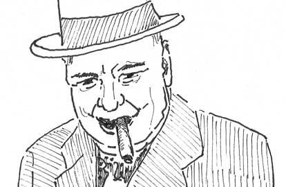 Winston Churchill gevangen, Winston Churchill