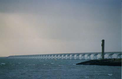 Opening van de langste brug ter wereld, Zeelandbrug